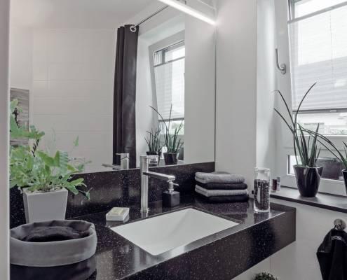 tischlerei altfeld badezimmer waschtisch - variante zwei